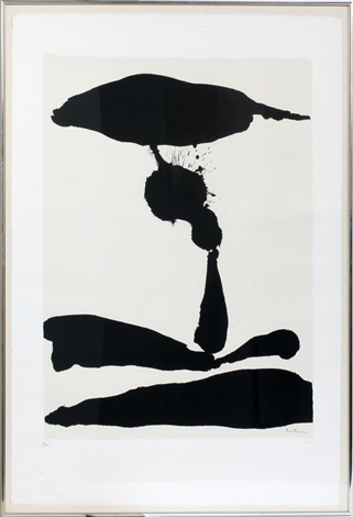 africa no 3 from africa suite by robert motherwell