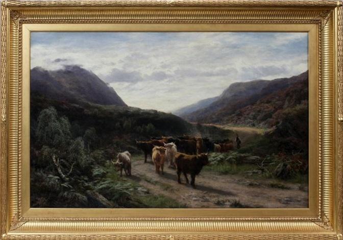 highland drove by david farquharson
