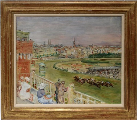 horse racing by lucien adrion