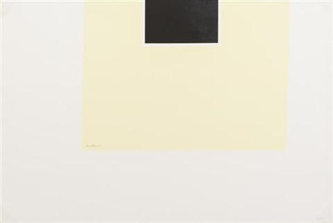 black yellow and white london series ii by robert motherwell