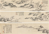 scenery of west lake by jiang shijie