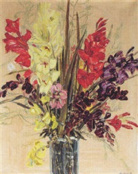 gladiolen by otto bauriedl