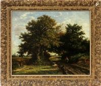 landscape by jean emile renié