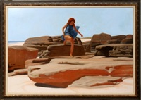 lady of the rocks by joseph jeffers dodge