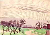 april 1916 by charles ephraim burchfield
