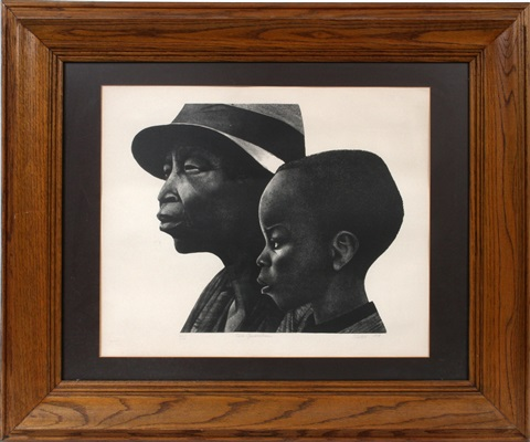 two generations by elizabeth catlett