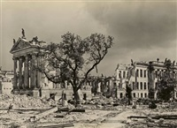 untitled (potsdam, ruin of the city palace) by max baur