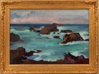 california coast by franz arthur bischoff