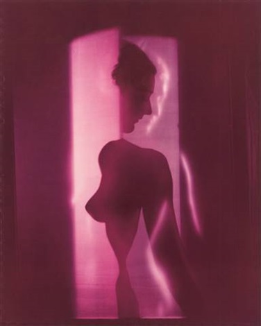cubistic purple nude new york from blumenfeld color by erwin blumenfeld