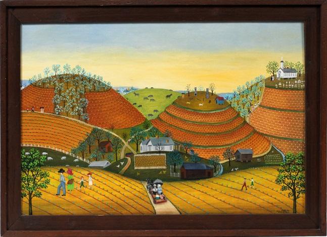 primitive farmland by mattie lou okelley