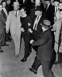 jack ruby shooting lee harvey oswald, dallas, nov. 24, 1963 by jack beers