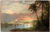 tropical landscape by frederic edwin church