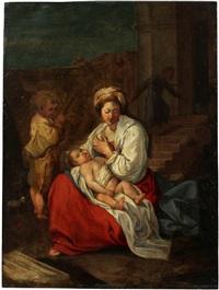 madonna and child by orazio gentileschi