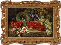 still life with grapes by william ward