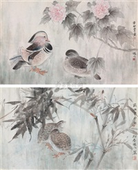 flowers and birds by xu xiaobing
