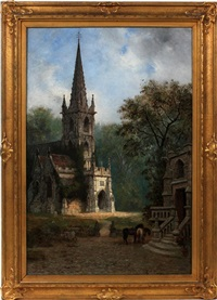 the village church by edwin deakin
