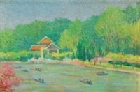 长风公园 by zhou bichu