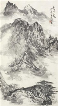 山水 (landscape) by hei bolong