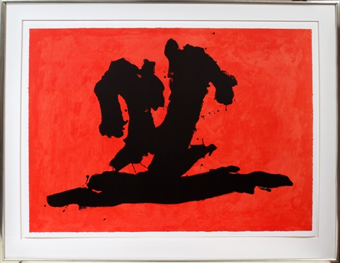 wave by robert motherwell