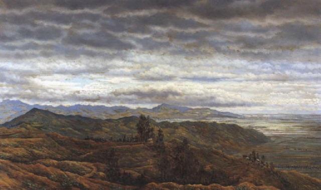 untitled (landscape) by gonzalo ariza