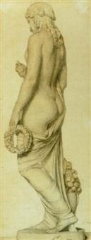 ung kvinde set fra ryggen