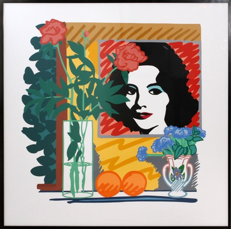 still life with liz by tom wesselmann