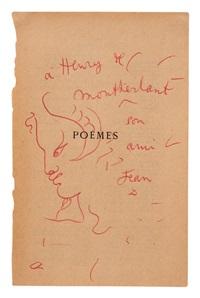 faun im profil by jean cocteau