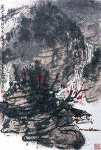 寒山常带斜阳色 by cui ruzhuo