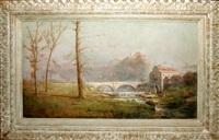 old stone bridge by h. irving marlatt