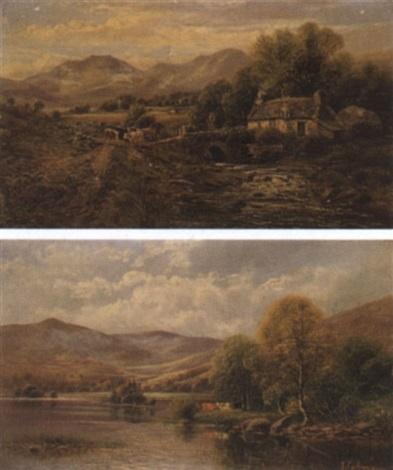 landschaft mit kühen by john gunson atkinson