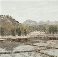 春到塞外 (northern-frontier spring) by ma hong