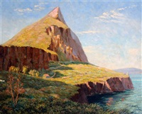 view of gibraltar by paul montague smyth
