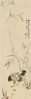 板桥诗意图 by liu zigu