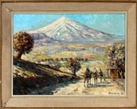 mount ararat by arthur sarkissian