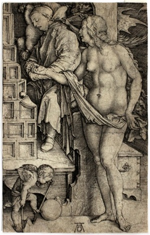 temptation of the doctor by albrecht dürer