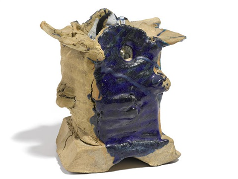 untitled vessel by peter voulkos