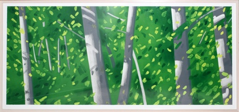 forest by alex katz