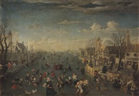 eisvergnügen in de grachten von amsterdam by anonymous-dutch (17)