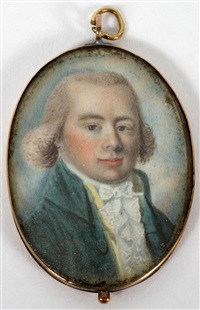 american miniature portrait by joseph dunkerley