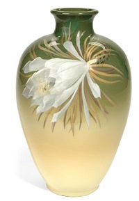night blooming cirrus vase by albert r. valentien