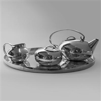 un servizio boule (4 works) by lino sabattini