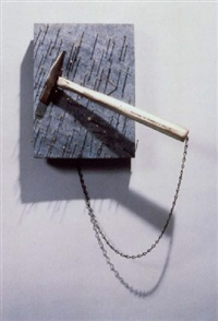 painting to hammer a nail in by yoko ono