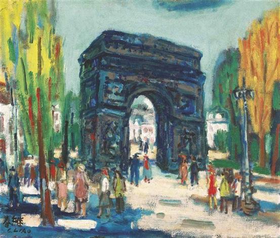 triumphal arch by liao chi chun