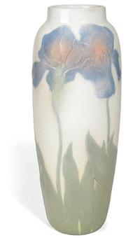 blue iris vase by j. d. wareham