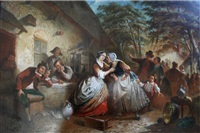 a tavern tantrum by franciscus melzer