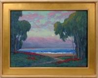 montecito dusk by william dorsey