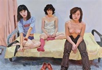 三个同学 (three classmates) by ma yanhong