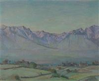 genfersee-landschaft by claire battie
