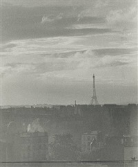 thunderstorm over paris, last bastille day before the war by ilse bing