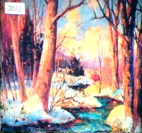 beech and oaks by paul wesley arndt